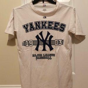 Majestic NY Yankees Logo Season T-Shirt, S